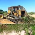 """Agentes do Ibama encontraram derrubada ilegal de 2,3 milhões de m². Corrente com elos grandes é arrastada por tratores para destruir a mata. Um desmatamento ilegal com uso de """"correntão"""" […]"""