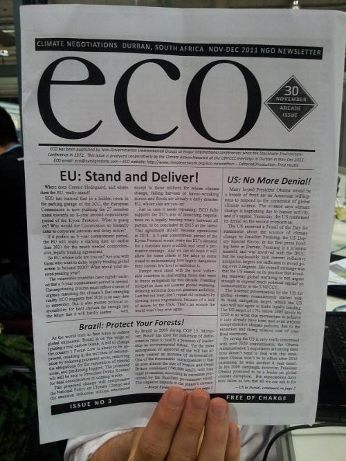 Mudanças do Código Florestal na capa de publicação internacional