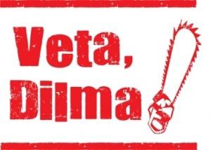 """Nem legal, nem honesto - Protesto """"Veta, Dilma"""" realizado pelo Greenpeace"""