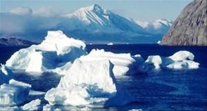 Grande piscina de água doce se expande no Ártico