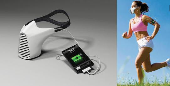Carregue seu iPhone enquanto respira