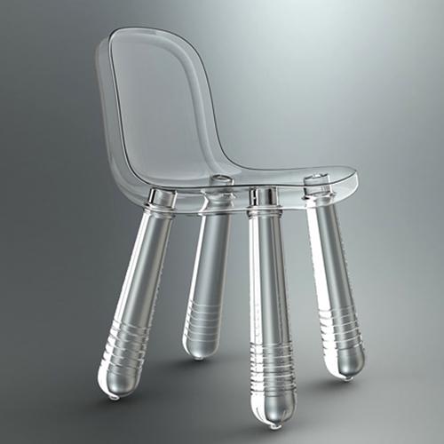Cadeira de plástico PET