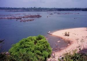 Trecho do Rio Xingu (foto), onde está sendo construída a usina de Belo Monte. Foto: NYT