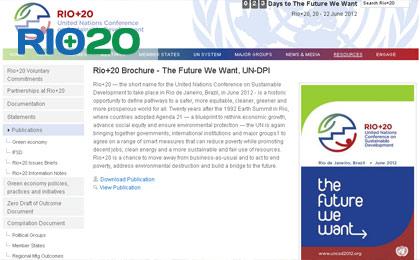 Cúpula dos Povos divulga nova versão restrita do Rascunho Zero