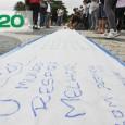 De frente para o mar de Copacabana, dezenas de pessoas encontraram inspiração para pedir a preservação de oceanos, na quinta-feira, 21 de junho. Em uma faixa de 150 metros estendida […]