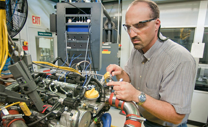 Motores a diesel são utilizados para transportes não rodoviários/Foto: Argonne National Laboratory