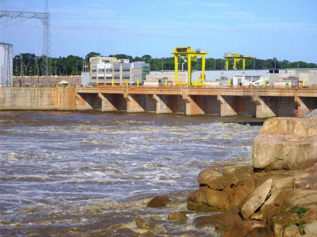 Usina Hidrelétrica Santo Antônio, em Rondônia (Foto: Divulgação/Santo Antônio Energia)