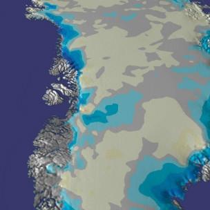 Nasa revela descongelamento 'repentino' de vasta área na Groenlândia