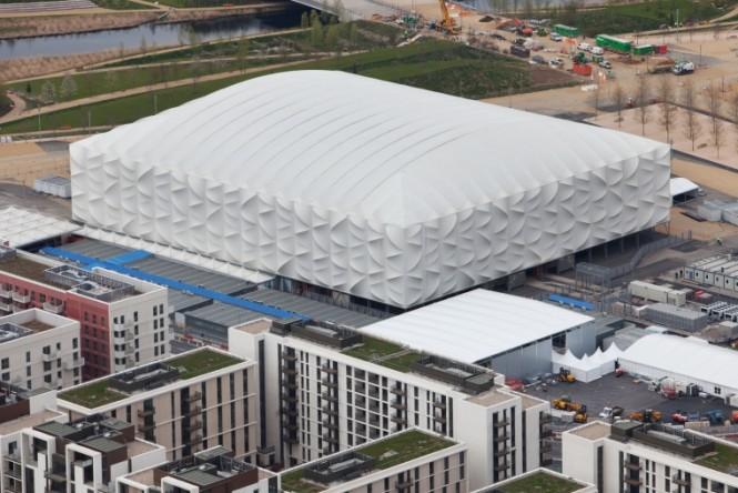 Arena de basquete de Londres é reciclável