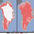 A cobertura de gelo da superfície da Groenlândia derreteu este mês em uma área superior à detectada em mais de 30 anos de observações de satélite, informou a Nasa esta […]