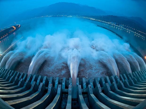 Represa entrou em operação em 2003, mas inaugurou último gerador esta semana (Foto: China Out/AFP )