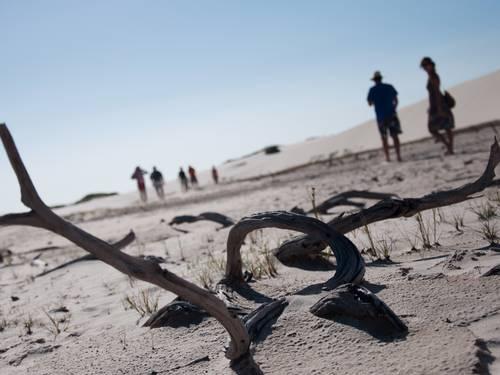 Meses de julho e agosto registram seca nas lagoas dos Lençóis Maranhenses, em Barreirinha Flávia Milhorance / Agência O Globo