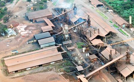 Polo industrial de ferro gusa, no munícipio de Açailândia (MA). || Foto: Ismar Ingbe/Greenpeace