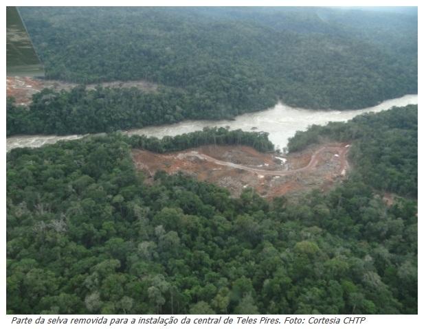 Hidrelétrica inundará santuário indígena na Amazônia