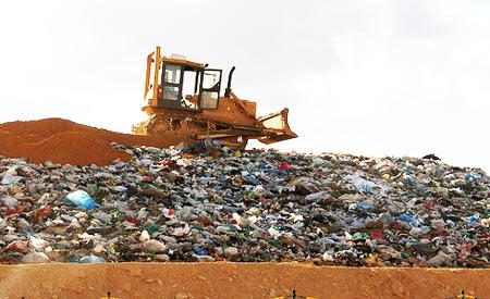 Solução pode ser adequada para diminuição das emissões de poluentes em lixões. Foto: Quin Drummond / Secretaria de Comunicação / Prefeitura de Sete Lagoas