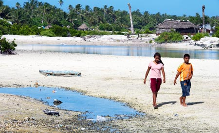 Efeitos das alterações bruscas do clima são sentidos em todo o mundo. Foto: Eskinder Debebe/UN
