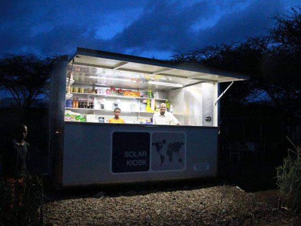 Com oferta de produtos, serviços e energia, quiosque funciona como um mini centro comercial em regiões remotas da Etiópia, um dos países mais pobres do continente africano