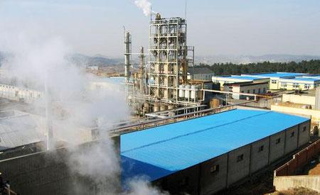 Fábrica de butanol fóssil no Japão. Unidade brasileira produzirá o combustível a partir do bagaço da cana de açúcar. Foto: Divulgação