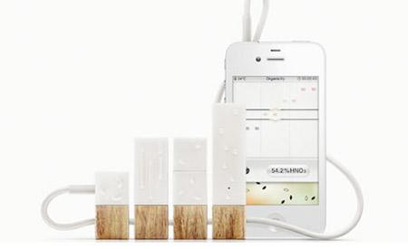 Monitor conectado a smartphone informa níveis de toxidade do ar e de alimentos