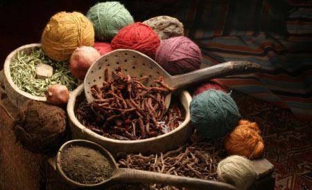 As tintas naturais podem ser extraídas de fontes animais, vegetais e minerais Foto: Reprodução