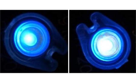 O LED DNA emite uma luz branca mais agradável ao olho humano Foto: James Grote