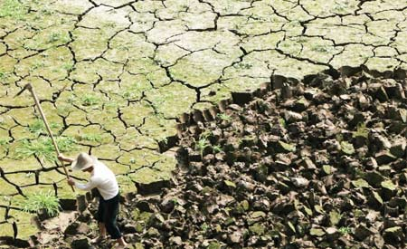 Alterações no clima do planeta têm sido responsáveis por padrões de eventos extremos, segundo o SREX. Imagem:Reprodução
