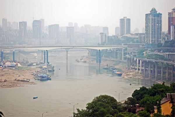 Chongqing, na China, é uma das cidades que mais cresce no mundo. Foto: Harvey Barrison