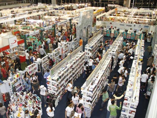 Feira Pan-Amazônica do Livro vai até domingo (30), no Hangar. (Foto: Cristino Martins/O Liberal)