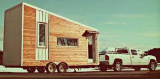 Leaf house: minicasa ecológica viaja com o dono