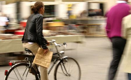 Crise econômica é apontada como um dos fatores responsáveis pela alta de vendas das bikes. Foto: Robert Thomson