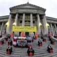 Na última semana, 40 ativistas do Greenpeace Argentina foram ao Congresso Nacional para pedir que a Lei do Lixo Eletrônico seja votada. Fantasiados de deputados e simulando a detonação de […]