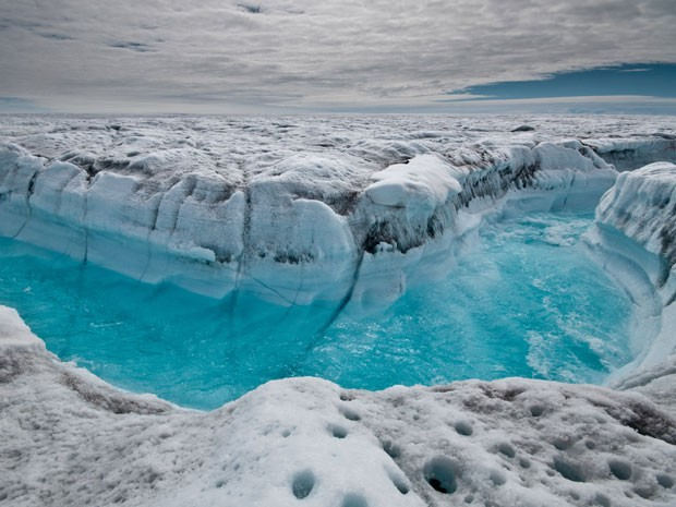 Levantamento inédito aponta perda de gelo na Antártica e na Groenlândia