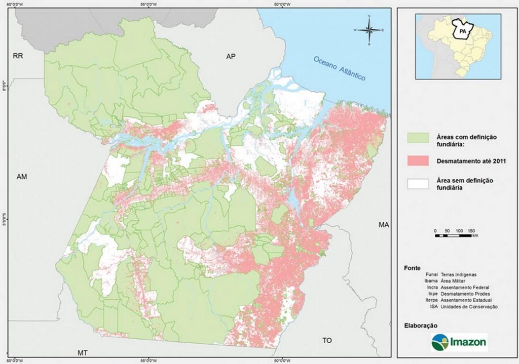 Imazon destaca a necessidade de solucionar os problemas fundiários no Pará