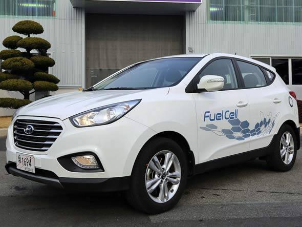 Hyundai lança SUV que usa hidrogênio como combustível
