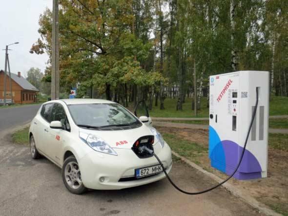 Estônia tem primeira rede nacional de recarga de elétricos