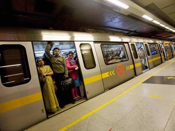 Estudantes indianos vão produzir energia com ajuda do metrô