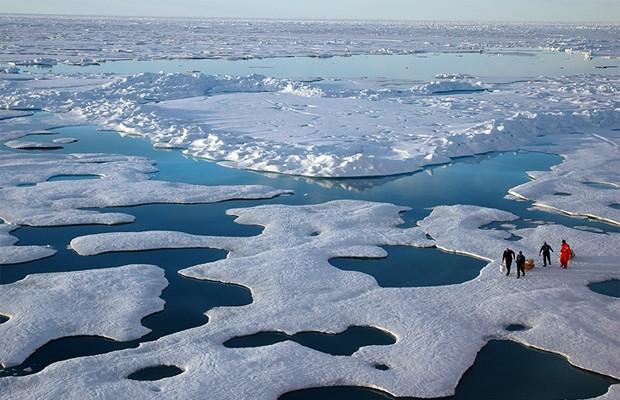 Cientistas preveem degelo total do Oceano Ártico no verão até 2050