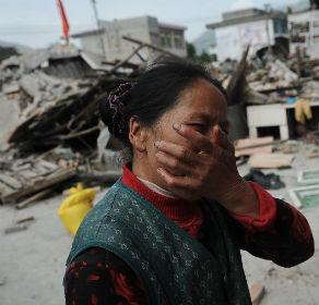 Terremoto de magnitude 7 mata 156 região central da China