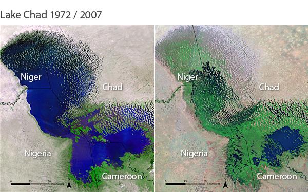 Nigéria culpa mudanças climáticas por aumento de conflitos
