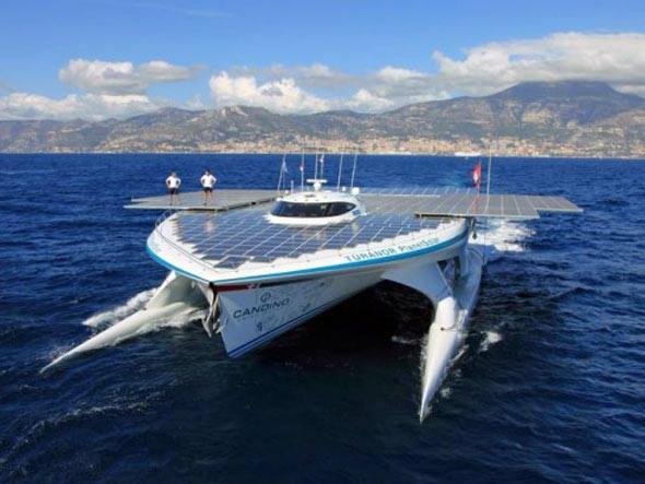 Maior barco solar do mundo vai estudar mudanças do clima