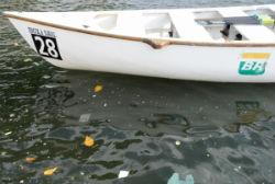 Regata ecológica da Marinha recolhe 220 quilos de lixo na Baía de Guanabara