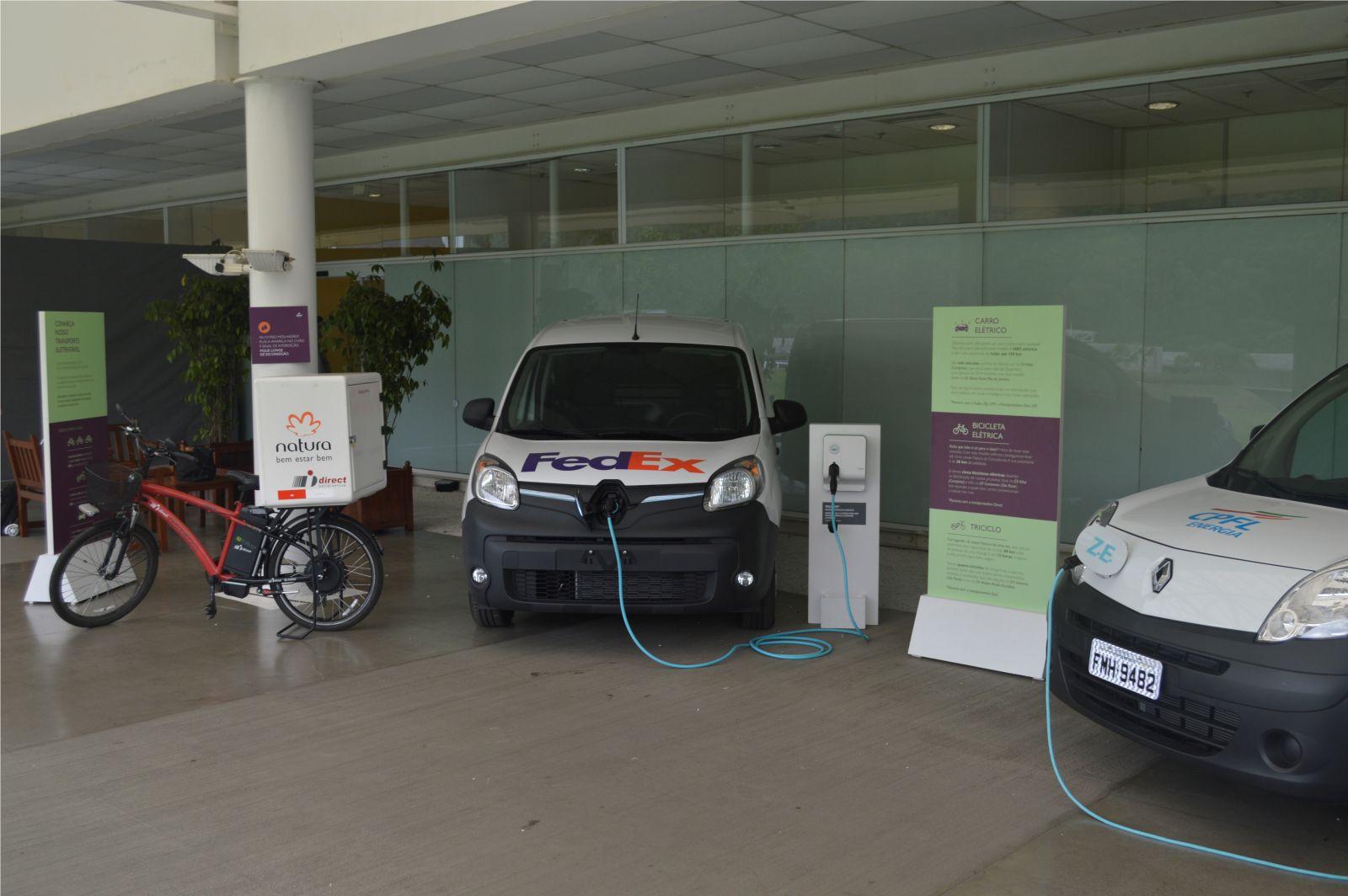 Natura inicia uso de veículos elétricos para transporte de cargas