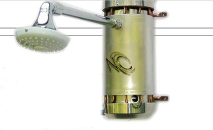 A praticidade do chuveiro está alinhada com o compromisso com o meio ambiente/Foto: Reprodução