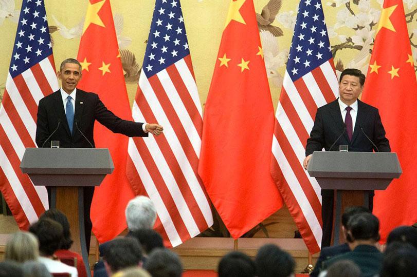 Obama e Xi Jinping anunciam acordo para reduzir emissões. Foto: The White House/Facebook