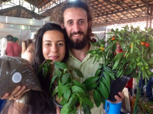 Julhiana e Jaques: resgatando o agricultor que há nas populações urbanas