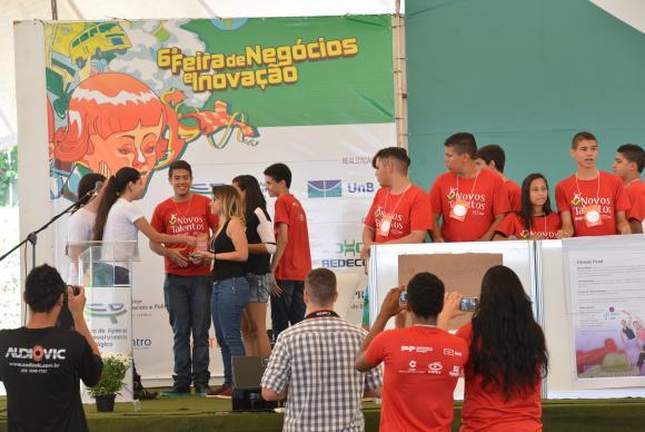 A 6º Feira de Negócios e Inovação na UnB envolve 3,8 mil estudantes de diversos cursos da universidadeAntônio Cruz/Agência Brasil