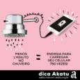 Ao diminuir o seu banho diário de chuveiro elétrico em um minuto, ao final de um mês você terá economizado energia elétrica suficiente para manter seu celular carregado por dois […]
